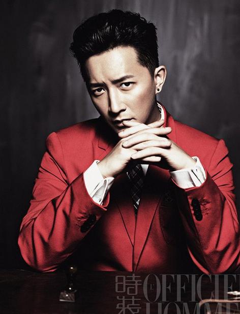 <b>韩庚受邀《时装男士》杂志拍摄6月刊封面</b>